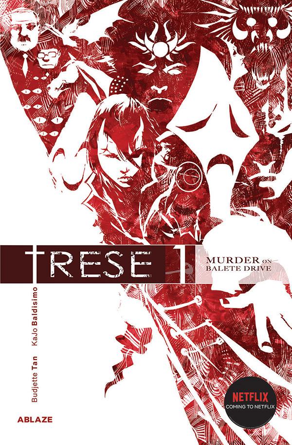 Trese Volume 1 Comic cover